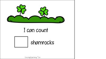 Counting Shamrocks Adapted Book