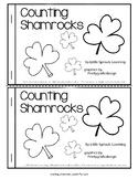 St. Patrick's Day Emergent Reader - Counting Shamrocks