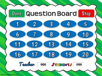 Counting Shamrocks - Teacher vs Student Powerpoint Game