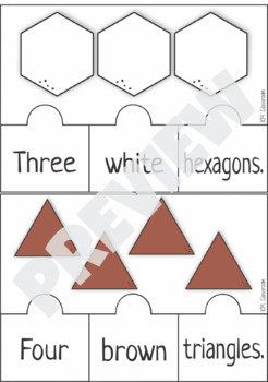 Emergent Reader Counting Shapes Puzzle