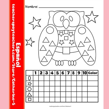 Counting Shapes - SPANISH