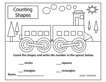 Counting Shapes-Train