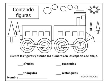 Counting Shapes-Train-Spanish