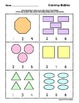 Counting Shapes Worksheets  (Counting Groups)