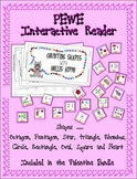 Counting Shapes with Hollis Hippo Interactive PEWE Reader - PECS style Book