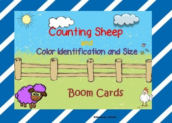 Counting Sheep 1-6 Boom Cards with Sound
