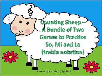 Counting Sheep - A 2 Game Bundle for Practicing Ta and Ti-