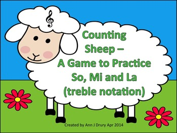 Counting Sheep - A Game for Practicing So, Mi and La