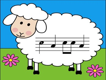 Counting Sheep - A Game for Practicing Ta, Ti-Ti, So and Mi