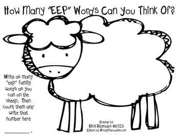 "Counting Sheep: ""EEP"" Words"