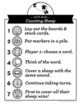 Counting Sheep Short and Long E Phonics Game