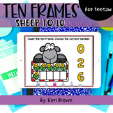 Counting Sheep Ten Frames to 10 | Seesaw Activity