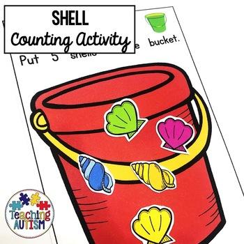 Counting Shells Math Activity