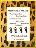 Zoo Animals, Special Education Math, Kindergarten Math, Ma