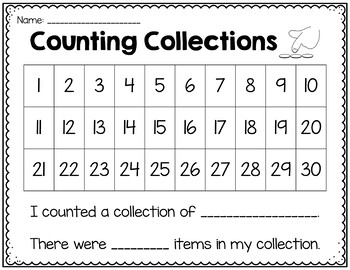 Counting Skills: Small Group Lessons for Guided Math {First Grade}