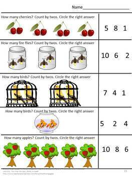 Counting Activities Preschool, Counting Activities,Special Education Math