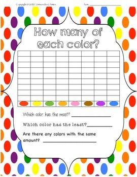 Free Graphing Smarties Activity