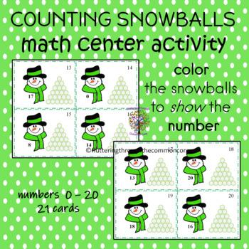 Counting Snowballs 0-20