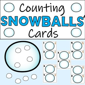 Counting Snowballs' Cards