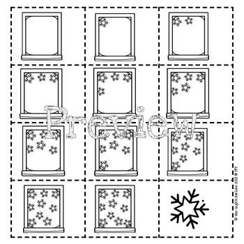 Counting Snowflakes Lapbook