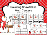 Counting Snowflakes Math Centers