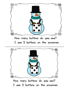 Counting Snowman Buttons