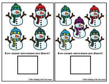 Counting Snowmen Adapted book