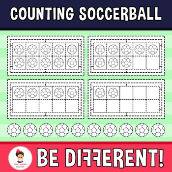 Counting Soccerball Clipart