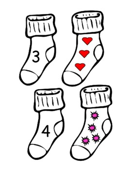 Counting Sock Matching Game