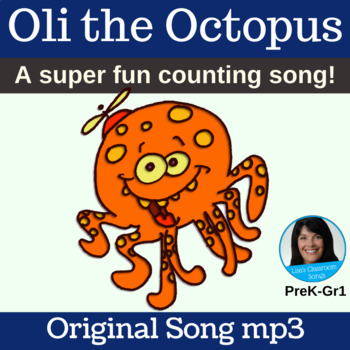 "Counting Song | ""Oli the Octopus"" by Lisa Gillam 
