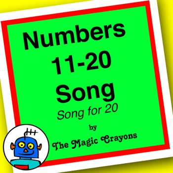 Counting Song (Song For 20) by The Magic Crayons - MP3