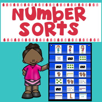 Number Sorts (Numbers 1-10) Whole Group and Student Sorts