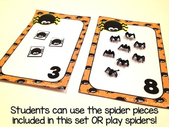 Counting Halloween Spiders