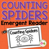 Spiders: Counting Spiders Emergent Reader Freebie