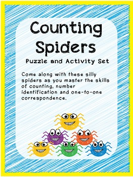 Counting Spiders: Puzzle and Activity Set