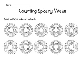 Counting Spidery Webs