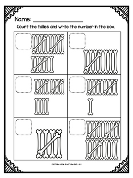 Counting Sets to 20: Halloween Theme