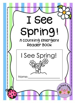 Counting Spring: A Preschool Reader Book