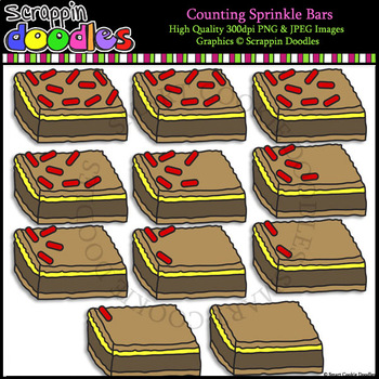 Counting Sprinkle Bars