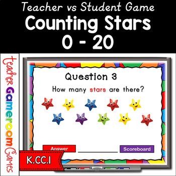 Counting Stars Teacher vs Student PPT Game