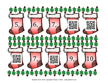 Counting Stockings with QR Codes