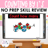 Counting Stockings - Counting by 1's to 10 See it Write it