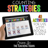Counting Strategies Activities for Google and Distance Learning