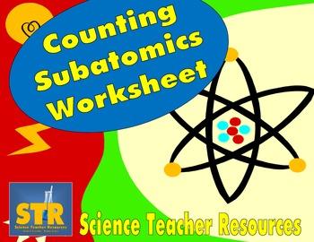 Counting Subatomic Worksheet