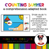 Counting Summer A Comprehension Adapted Book