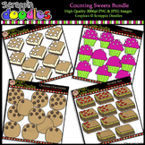Counting Sweets Clipart Bundle {$12 VALUE}