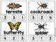 Counting Syllables Animal Clip Cards