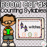 Counting Syllables Boom Cards