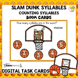 Counting Syllables-Boom Task Cards-Distance Learning