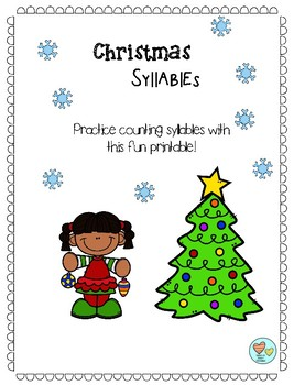 Counting Syllables - Christmas